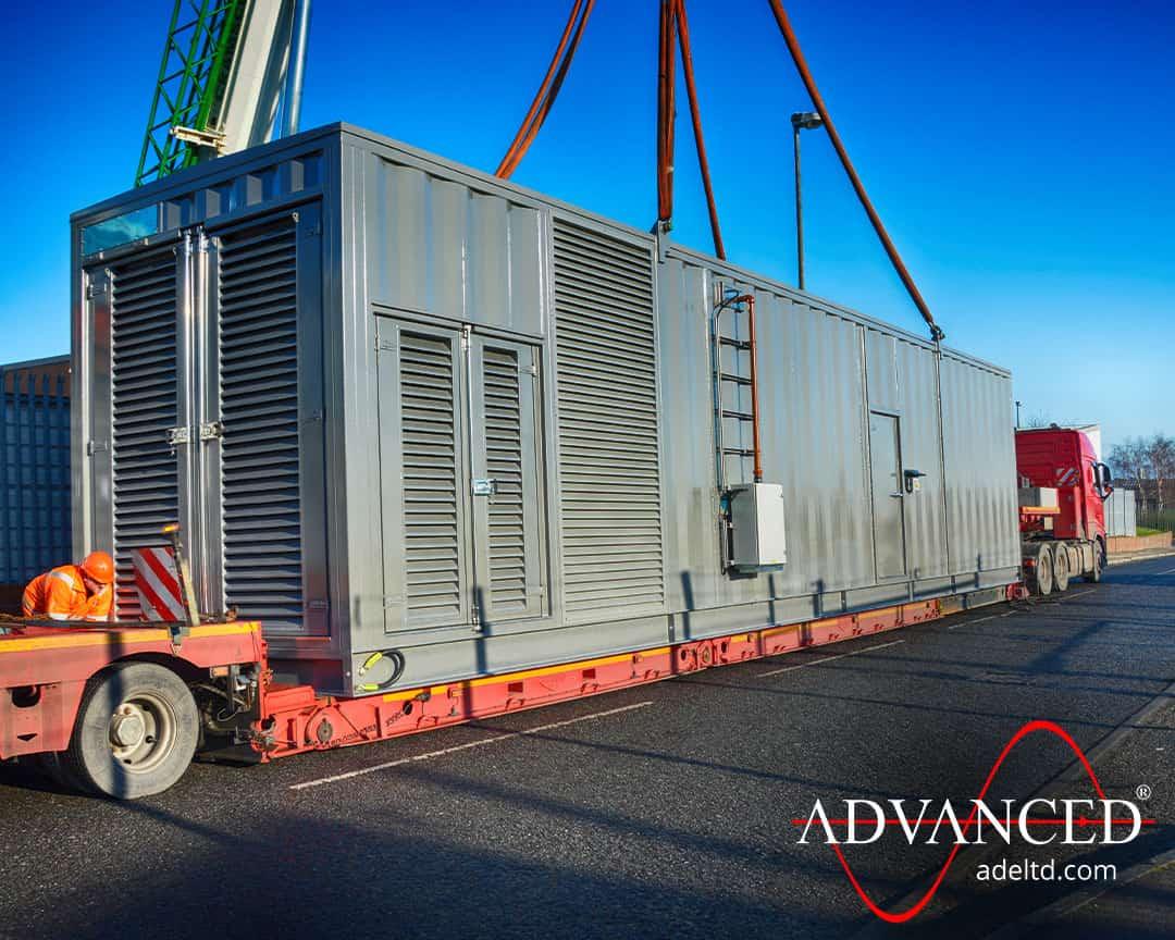 2500 kVA Bespoke Acoustic Diesel Generator Enclosure