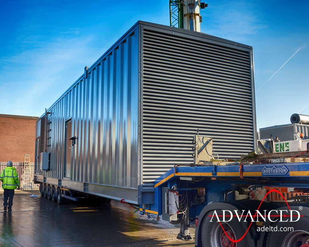 Biology Power 2500 kVA Bespoke Diesel Generator Enclosures