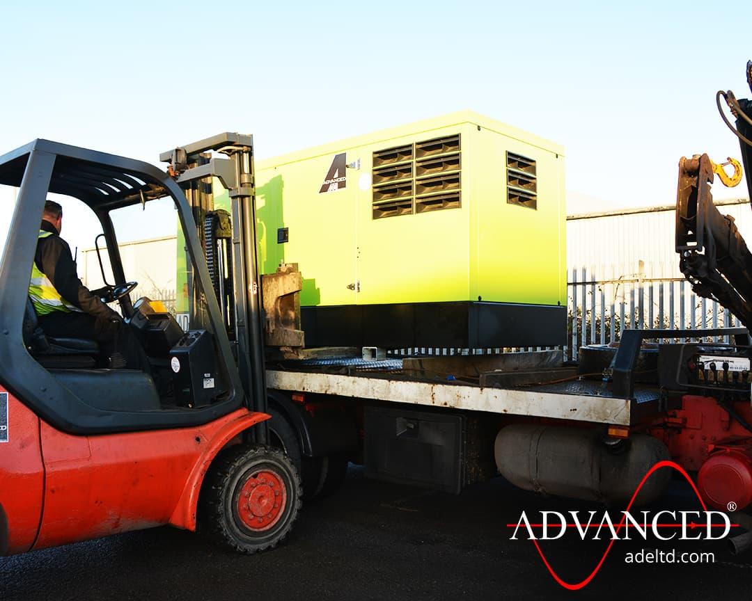 Reseller Sales 165 kVA Pramac Perkins Silent Diesel Generator Delivery