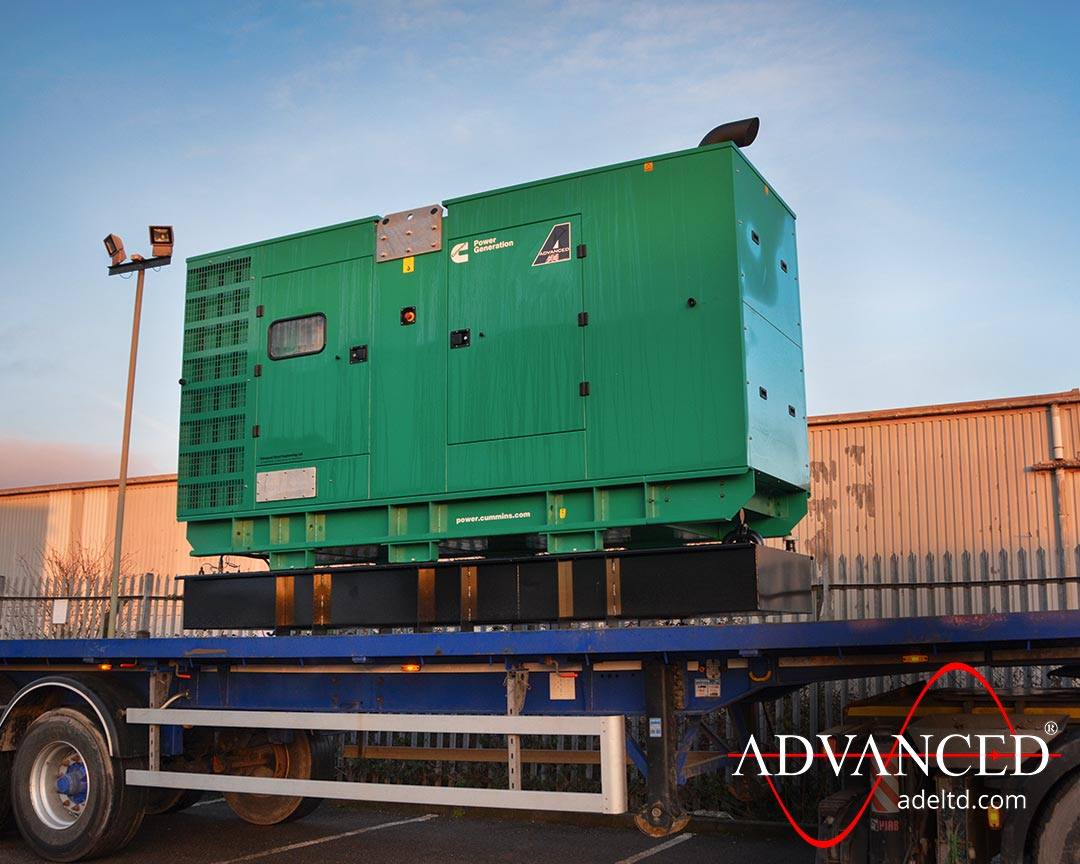 Royal Power 275 kVA Diesel Generator Delivery