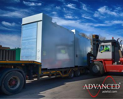 3 x 20,000 litre Bespoke Designed & Built Bulk Fuel Tanks