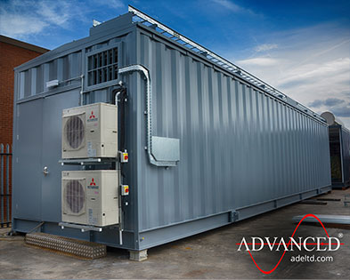 Bespoke Advanced designed & built Switchgear Housing