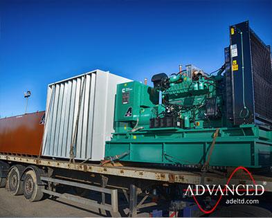 700kVA Cummins Luxury Home Backup Diesel Generator