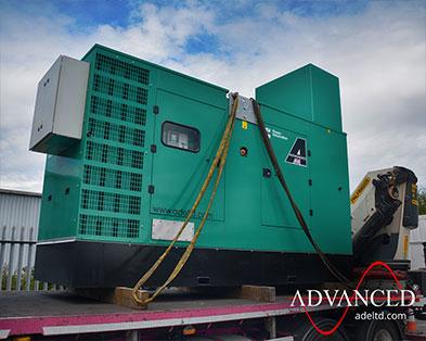 Modified 330 kVA Cummins Silent Diesel Generator for a UK University