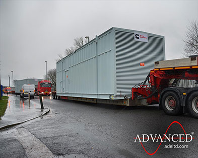 2 Cummins 3000 kVA Diesel Generators in Bespoke Acoustic Enclosures