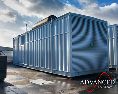 A further 2 Cummins 3000 kVA Diesel Generators in Bespoke Acoustic Enclosures