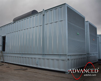 Two more 3000kVA Cummins Diesel Generator Acoustic Enclosures