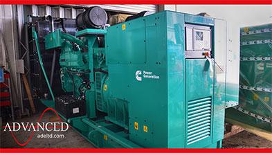 825 kVA Cummins C825D5A Agriculture Company Open Diesel Generator