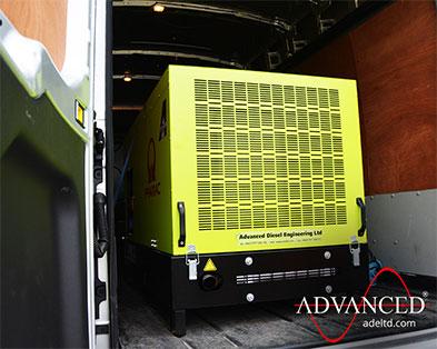 22 kVA Pramac Perkins GBW22 Insulation Power Silent Diesel Generator
