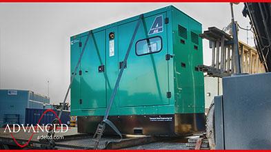 55 kVA Cummins C55D5e Water Treatment Power Silent Diesel Generator