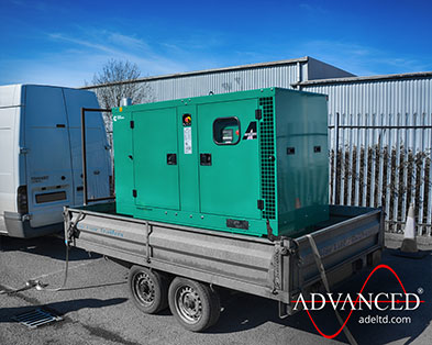 38kVA Cummins C38D5 Recreation Backup Power Silent Diesel Generator