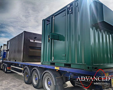2 Bespoke Acoustic Diesel Generator Containers