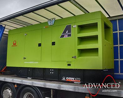 Concrete Batching Pramac Perkins 470 kVA Silent Diesel Generator