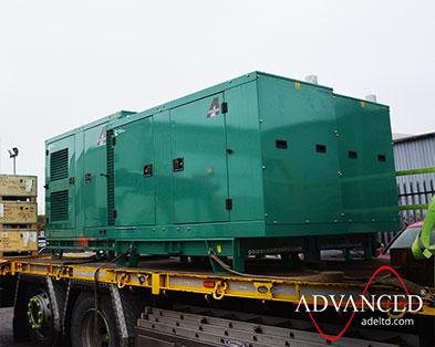 3 x Cummins Silent Fire Pump Power Diesel Generators