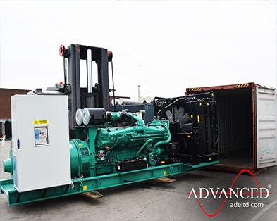Somalia Exports 1675 kVA Open Cummins C1675D5A Diesel Generator