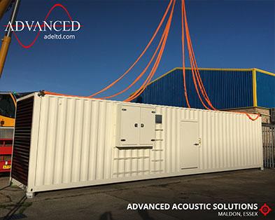 Acoustically Packaged 1250kVA Diesel Generator