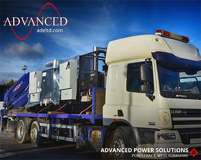 2 Bespoke-Built 250kVA Telecoms-Spec Open Diesel Generators