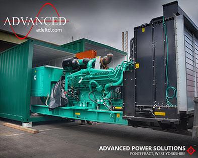 3 Bespoke 1675 kVA Packaged Diesel Generators