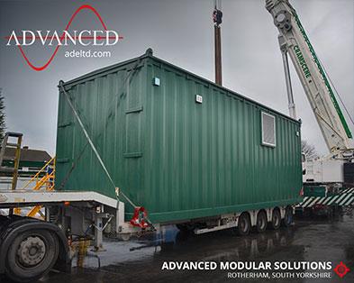 Specialist 11kV Bespoke Modular Switchgear Housing