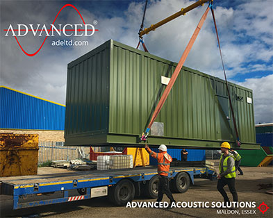 Bespoke Acoustic 1000 kVA Gas Generator Enclosure for a large UK hospital