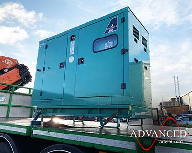 66kVA Cummins Stage IIIa Diesel Generator for a UK generator reseller