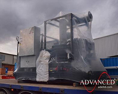 Bespoke-Built 88kVA Telecoms-Spec Open Diesel Generator for a telephone exchange in Newport, UK