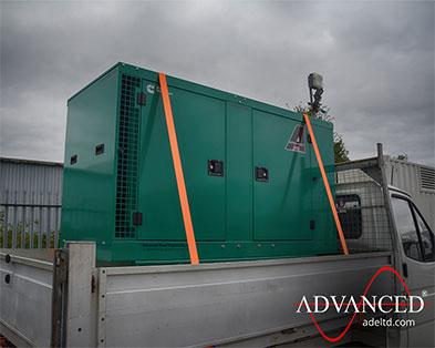 38kVA Cummins Silent spray booth power Diesel Generator