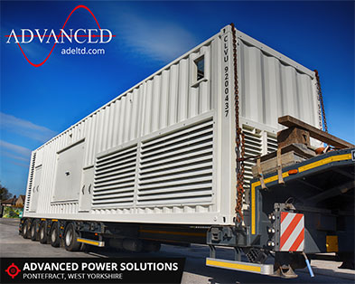 2250kVA Acoustically Packaged Diesel Generator Power Solution