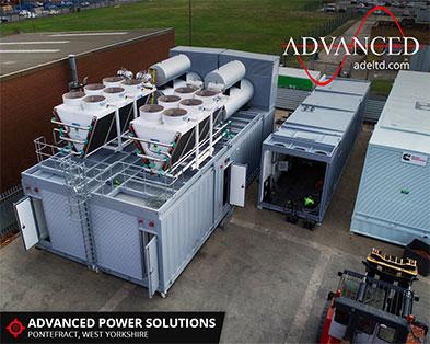 Conjoined 3500kVA Diesel Generator Enclosures