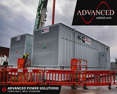 2 Cummins 3000 kVA Packaged Diesel Generators