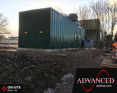 2750kVA Water Treatment Backup Diesel Generator