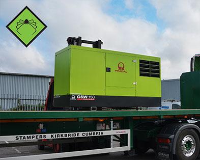 150 kVA Perkins Construction Supplier Diesel Generator