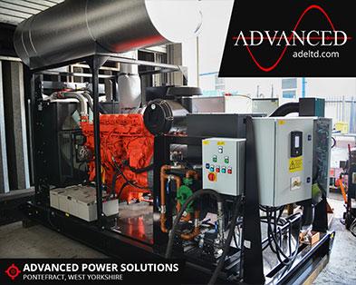 Bespoke 800 kVA Scania Diesel Generator
