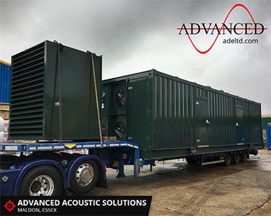 Gas Generator Enclosure Dispatch