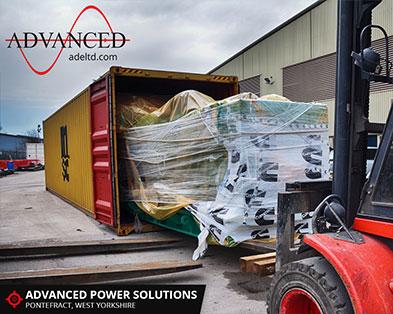 Dubai 1100 kVA Diesel Generator Export