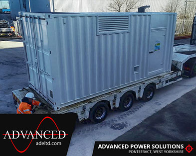 Logistics Specialist Backup Diesel Generator Package