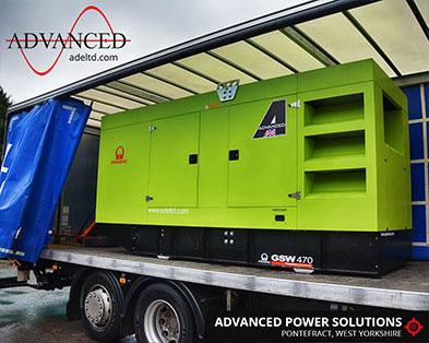 Cumbria Cinema 470kVA Diesel Generator
