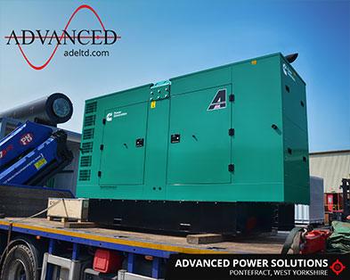 Cummins 150kVA Construction Diesel Generator