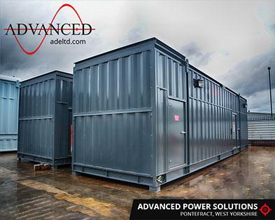 Bespoke-Built 3000kVA Acoustic Generator Enclosures