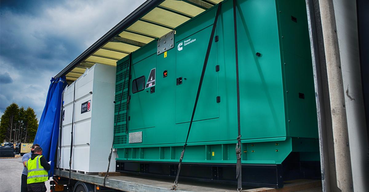 FG Wilson P65-5 60 kVA Silent/Enclosed Diesel Generator