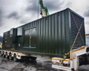 Water Treatment Acoustic Diesel Generator Enclosure