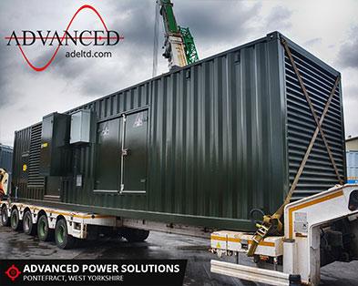 Water Treatment Acoustic Diesel Generator Enclosure
