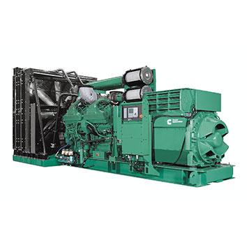 2750 kVA Cummins QSK60 Open Diesel Generator - Cummins C2750D5B
