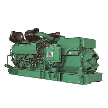 2750 kVA Cummins QSK78 Open Diesel Generator - Cummins C2750D5e