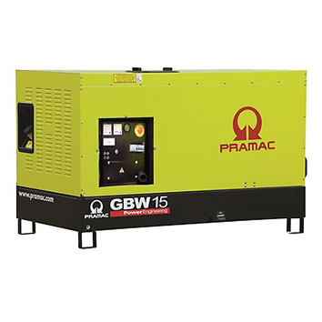 10 kVA Yanmar Single Phase Stage V Silent Diesel Generator - Pramac GSW15Y