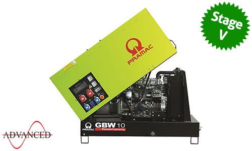10 kVA Yanmar Stage V Auto Start Silent Diesel Generator - Pramac GBW10Y