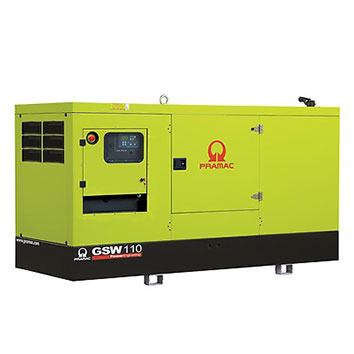 110 kVA FPT Auto Start Silent Diesel Generator - Pramac GSW110I