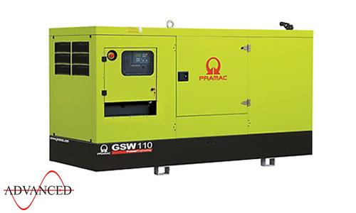 110 kVA Volvo Silent Diesel Generator - Pramac GSW110V