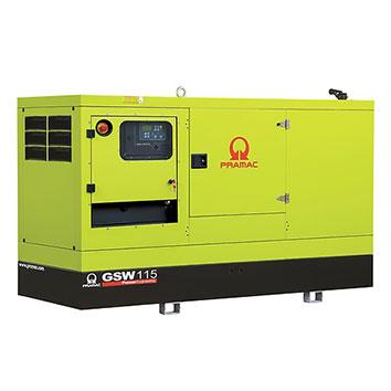 115 kVA Perkins Stage IIIa Silent Diesel Generator - Pramac GSW115P