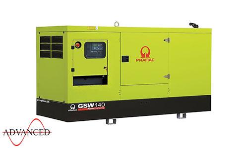 140 kVA FPT Auto Start Silent Diesel Generator - Pramac GSW140I